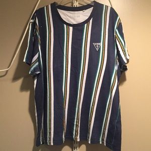 Striped Guess Tee (ALWAYS OPEN TO OFFERS)